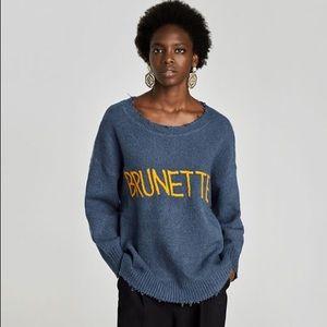 Zara Brunette Sweater